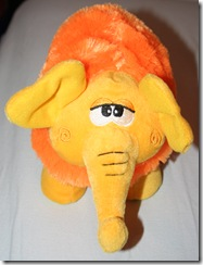Elefant in Orange