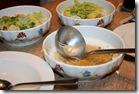 Meine Suppe und die Salate