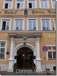 Hotel Goldene Sonne Landshut