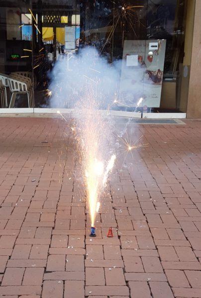 Kinderfeuerwerk